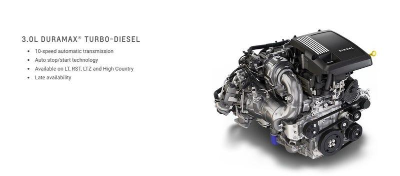 Illustration for article titled GM 3.0 I6 Diesel