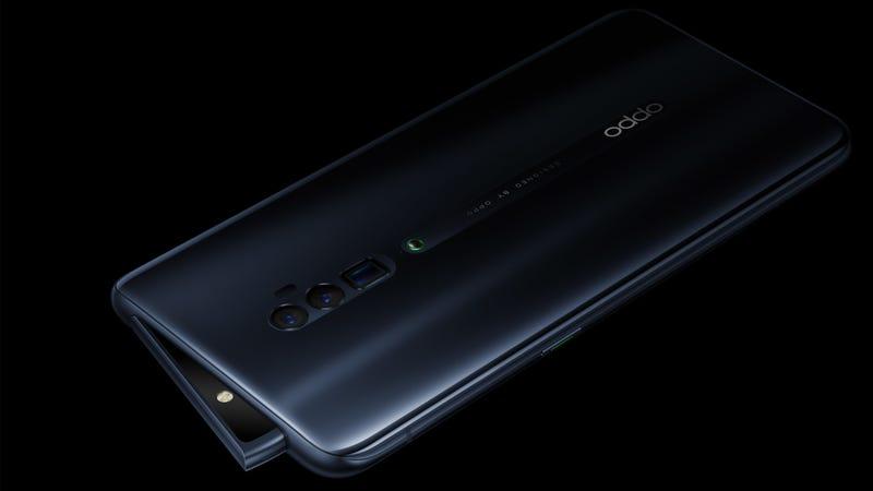 Illustration for article titled Oppo Reno 10x Zoom: el teléfono que esconde su cámara cuando detecta que se está cayendo