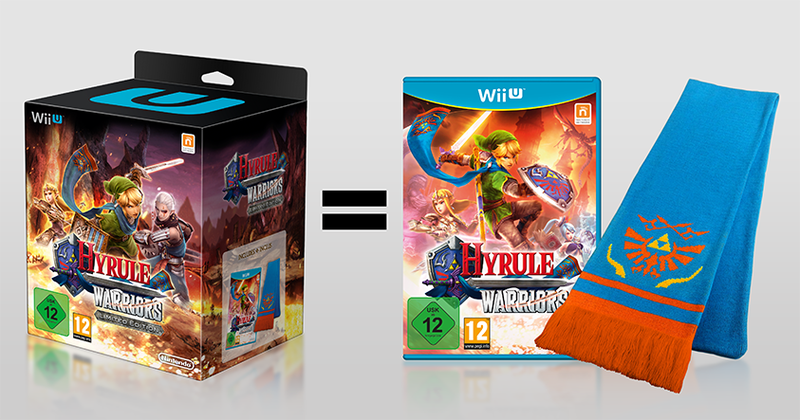 Illustration for article titled Hyrule Warriors European Limited Edition