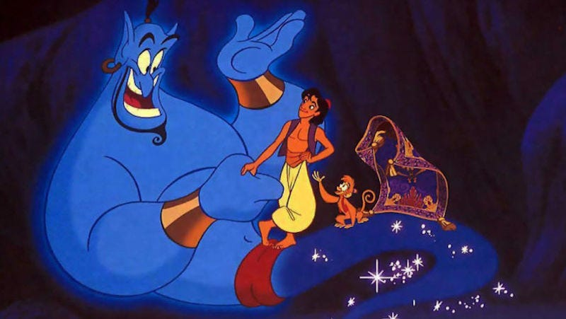 Illustration for article titled Disney Makes the Obvious Choice and Puts Guy Ritchie in Charge of the Live-Action Aladdin