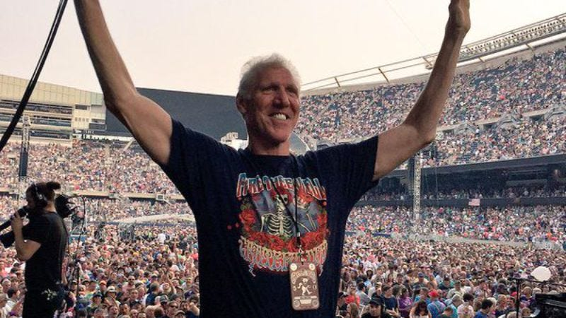 Bill Walton on seeing the Grateful Dead over 800 times