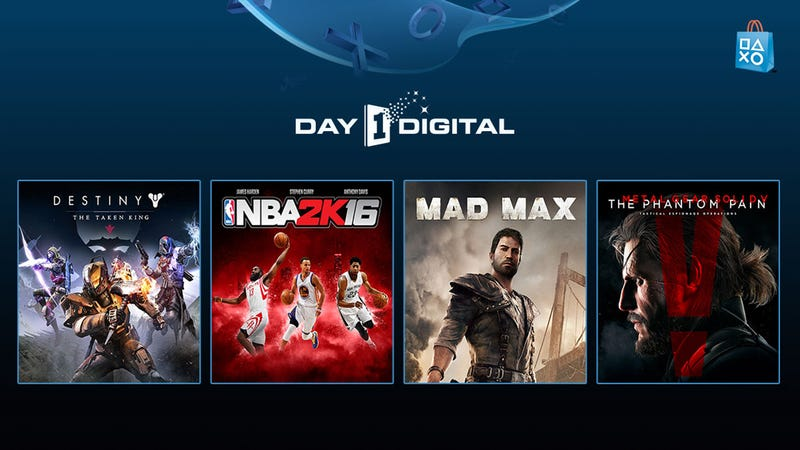 Illustration for article titled Be the First to Play the Biggest Games of the Year With PlayStation Store Day 1 Digital