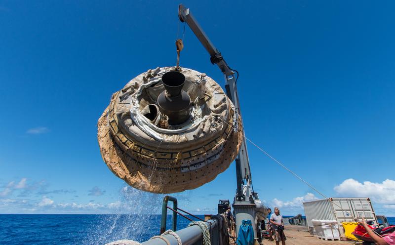 Illustration for article titled La NASA prueba con éxito su futuro platillo volante a Marte