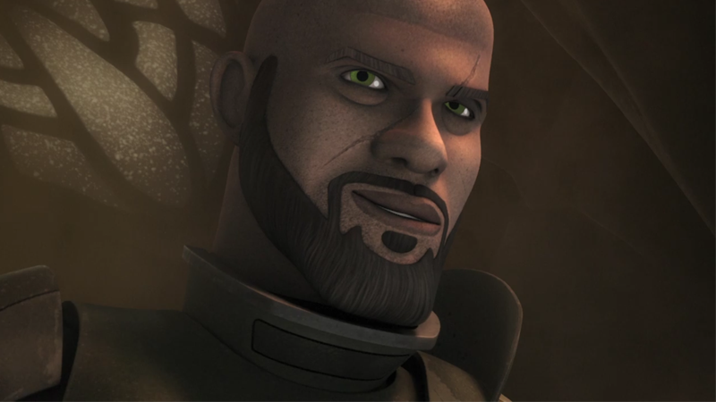 Illustration for article titled Rogue One's Saw Gerrera is Coming to Star Wars: Rebels