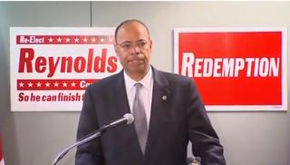 Former Illinois Rep. Mel ReynoldsYouTube