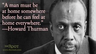 Baptist Minister Dr. Howard Thurman Mark Kauffman/Getty Images