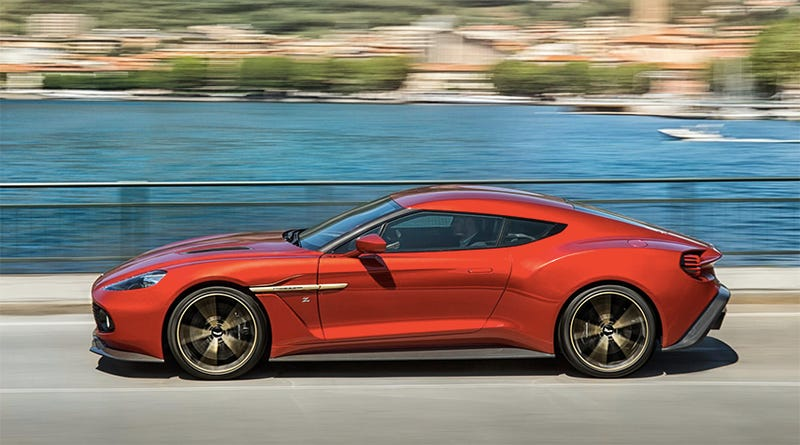 You Wished Hard Enough And Now The Aston Martin Vanquish Zagato Is Real - Aston martin vanquish zagato