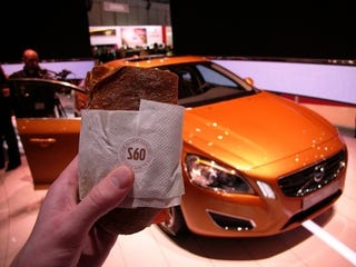 Illustration for article titled The All-New Volvo S60 Ham Sandwich