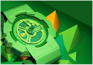 Illustration for article titled I'd Wear This G-Shock Watch Made From Paper