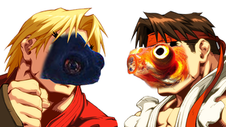 Illustration for article titled Watch These Fish Play Street Fighter