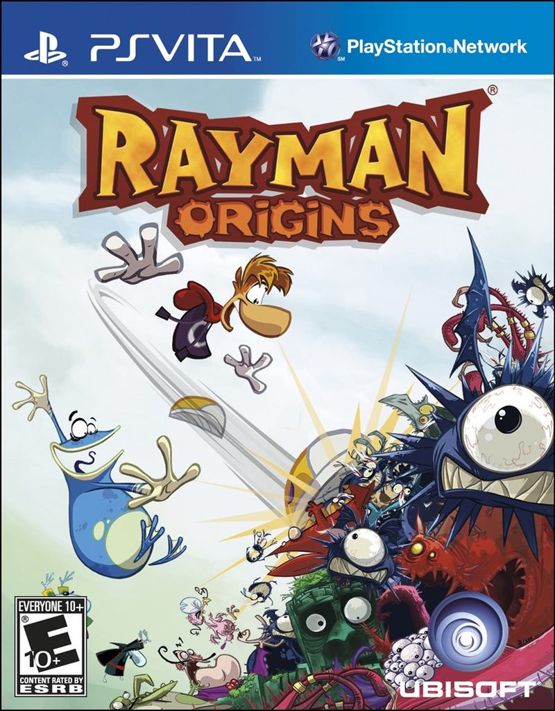 Illustration for article titled Rayman Origins Vita FREE with PS+