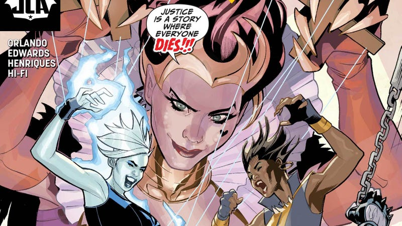 Killer Frost is granted her greatest wish in this JLA #22