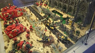 Illustration for article titled LEGO Warhammer 40k Battlefield Is A Work Of Art