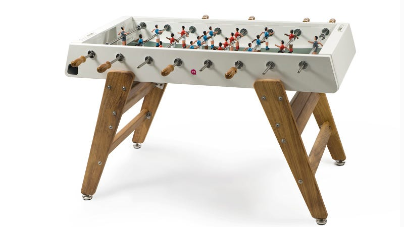 Illustration for article titled The Foosball Table So Stylish, It Doesn't Have to Hide in the Garage