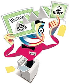 Illustration for article titled Do You Ever Get Extended Warranties On Electronics?