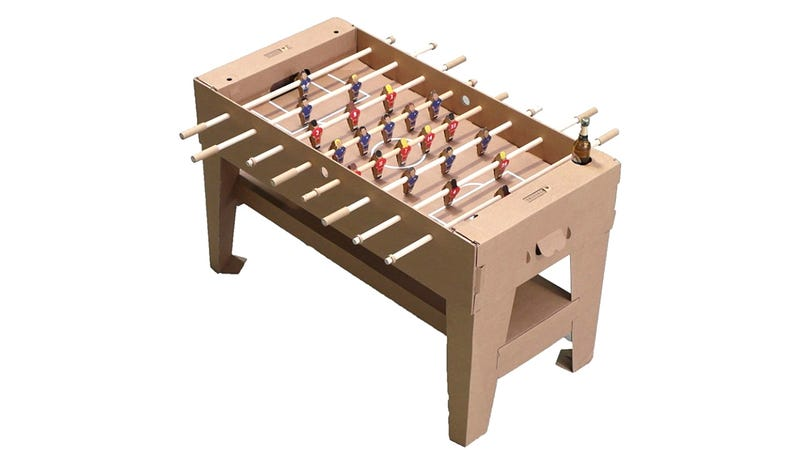 Dont Spill Anything On This Foosball Table - How much does a foosball table cost