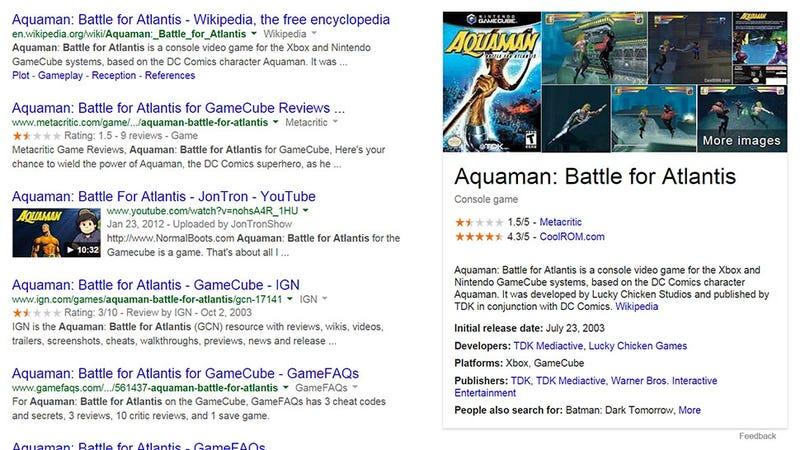 Illustration for article titled Google Has Much More To Tell Us About Video Games Now. Maybe Too Much.