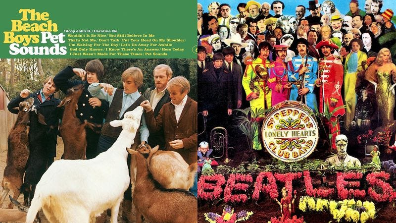 Which Is Better Pet Sounds Or Sgt Peppers