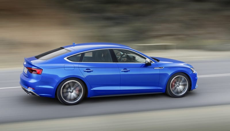 Illustration for article titled The Audi A5 And S5 Sportbacks Are Coming To America And You Better Buy One