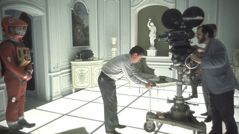 Stanley Kubrick on the set of 2001: A Space Odyssey (Photo: Getty Images)