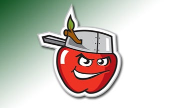 Illustration for article titled Ill-Tempered Apple Calls Out Nightmare Ant In Fort Wayne Mascot Showdown