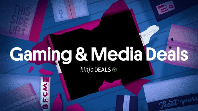 The Best Black Friday Gaming & Media Deals [Updating]