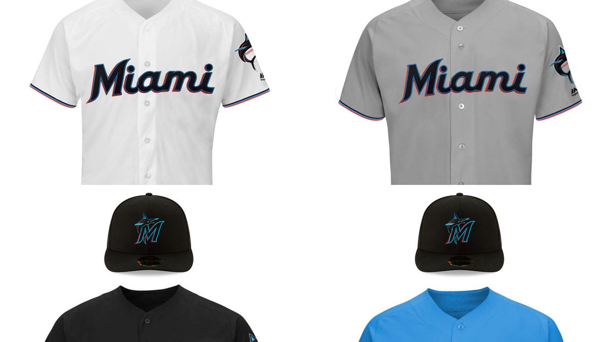 The Marlins Have A New Logo And New Uniforms 1509d4591