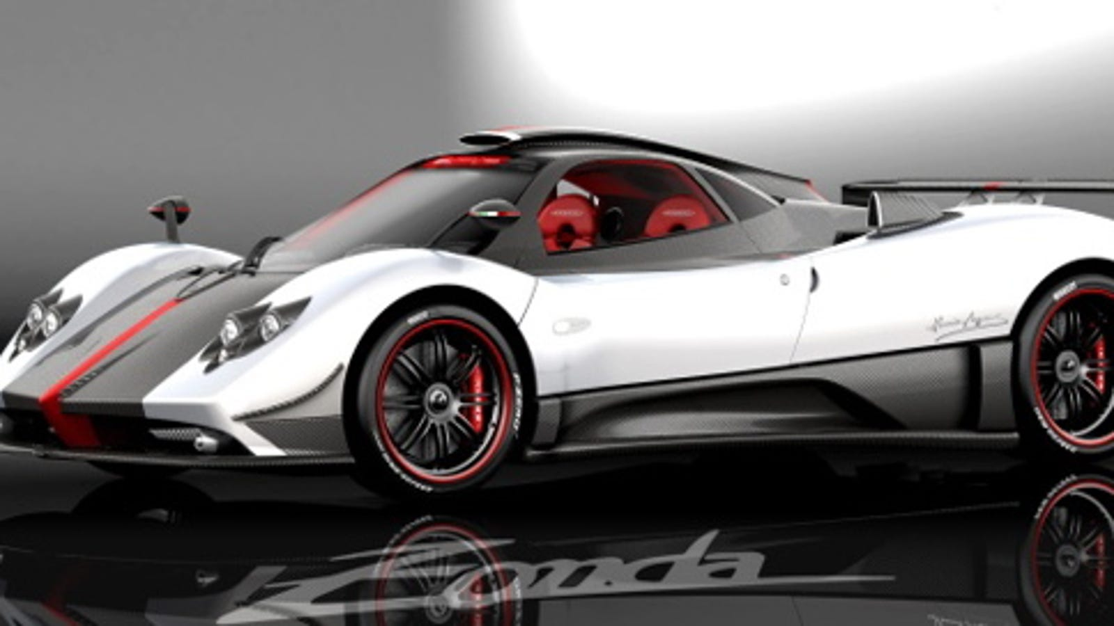 pagani zonda cinque, a street legal zonda r, first picture