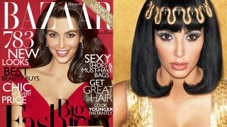 Illustration for article titled Kim Kardashian's Cleopatra Has Historically Inaccurate Cleavage