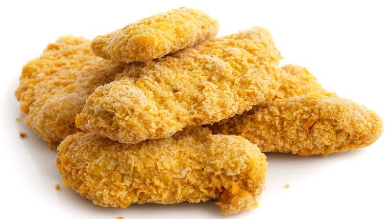 Illustration for article titled Do not eat chicken tenders spilled on roadside, warn Alabama authorities
