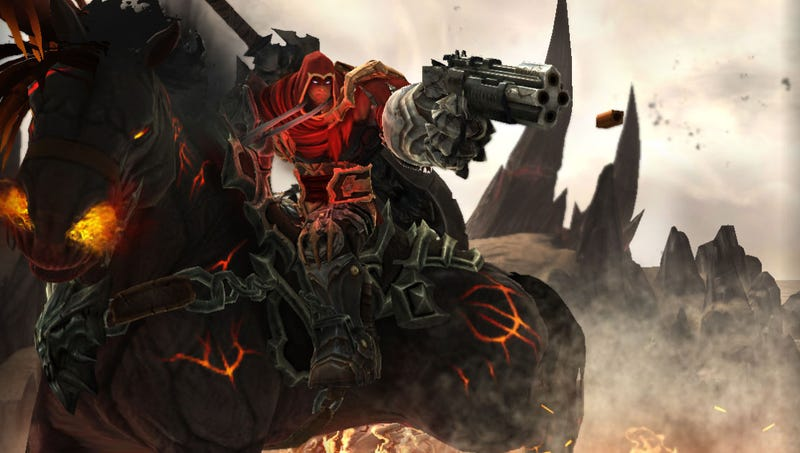 Illustration for article titled Darksiders Review: Harbinger Of The Apocopylypse