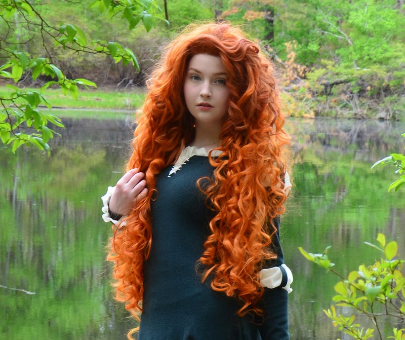 Illustration for article titled Good News About Brave's Merida? THIS COSPLAY!
