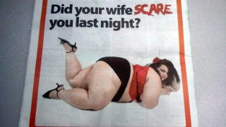 Illustration for article titled Is Your Wife Fat? Try Adultery!