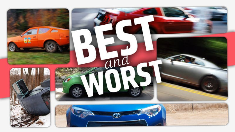Illustration for article titled The Best And Worst Cars I've Driven This Year