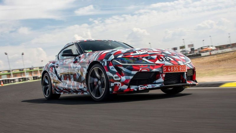 Illustration for article titled The 2019 Toyota Supra Is a BMW Parts Bin Car