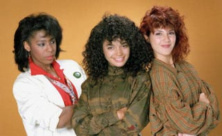 Dawnn Lewis as Jaleesa Vinson, LIsa Bonet as Denise Huxtable and Marisa Tomei as Maggie LautenIMDb