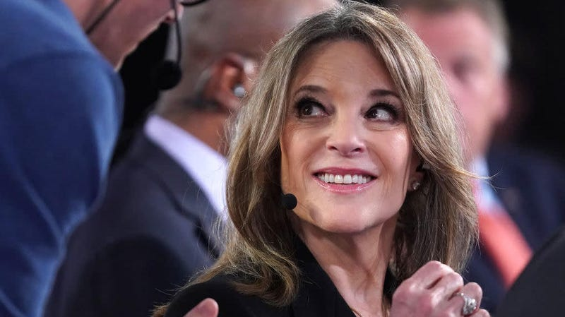 Illustration for article titled Marianne Williamson Believes in 'Redemption' for Former Bernie Adviser Accused of Sexual Harassment
