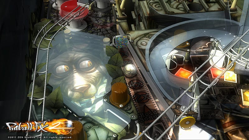 Illustration for article titled Pinball FX2 Gets a Free Table for Halloween