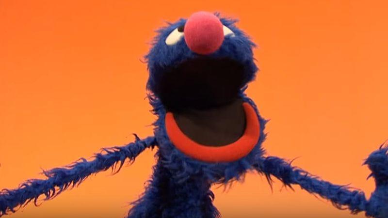 Grover on Sesame Street (Screenshot: YouTube)
