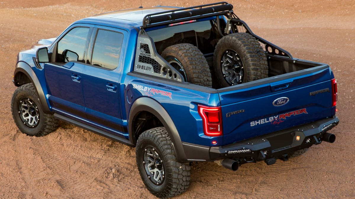 I have only one word for the 117460 shelby ford raptor why