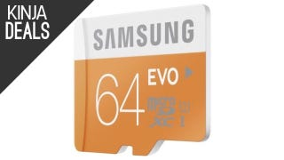 Illustration for article titled Samsung's Popular MicroSD Cards Are All Marked Down Today