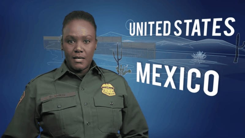 US Border Patrol Releases Propaganda Video Praising President Trump's Proposed Wall