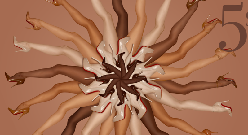 Illustration for article titled Finally, 'Nude' Shoes For All (Okay, Many) Skin Colors