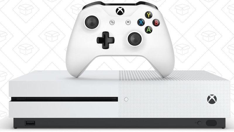 Xbox One S 500GB + Cuatro juegos, $248
