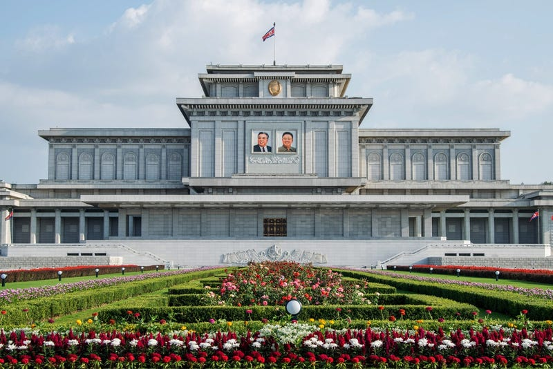 Tomb of Kim Il Sung and Kim Jong Il-Kumsusan at the Palace of the Sun on August 23, 2015 in Pyongyang, North Korea (Getty Images)
