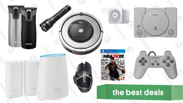 Tuesday s Best Deals: PlayStation Classic, Wemo Light Switch, NBA 2K19, and More
