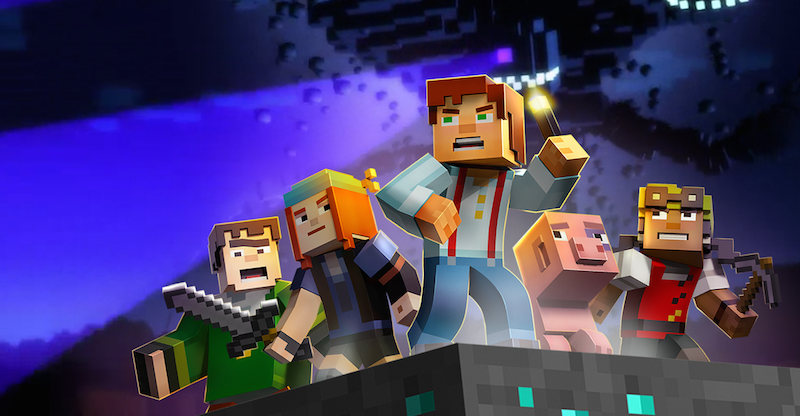 Illustration for article titled Minecraft: Story Mode Works Surprisingly Well