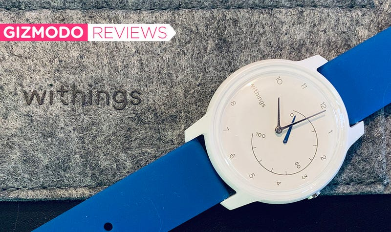 With the Move, Withings is going for a colorful Swatch aesthetic.