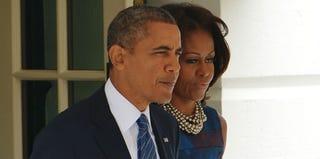 President Barack Obama and first lady Michelle Obama (Mandel Ngan/AFP/Getty Images)