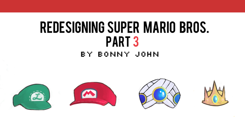 Illustration for article titled Redesigning Super Mario Bros. Part 3